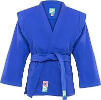 Куртка для самбо Green Hill JS-302 (р-р.6/190, синий) -