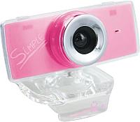 Веб-камера CBR Simple S3 (розовый) -