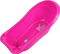 Ванночка детская Dunya Фаворит (розовый/малиновый) -