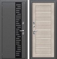 Входная дверь el'Porta Оптим Термо 222 Cappuccino Veralinga (86x205, левая) -