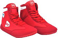 Обувь для борьбы Green Hill GWB-3052/GWB-3055 (красный/белый, р-р 40) -
