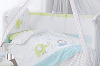 Комплект постельный в кроватку Perina Джунгли / ДЖ7-01.1 -