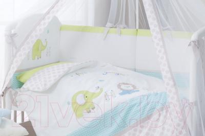 Комплект постельный в кроватку Perina Джунгли ДЖ7-01.1