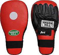 Боксерские лапы Green Hill Jet FMJ-5012 -