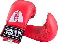 Перчатки для карате Green Hill Cobra KMС-6083 (S, красный) -