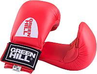 Перчатки для карате Green Hill Cobra KMС-6083 (XL, красный) -