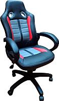 Кресло геймерское Everprof Forsage PU (черный/красный/серый) -