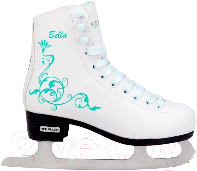 Купить Коньки фигурные Ice Blade, Bella (р-р 36), Россия, белый, иск. кожа