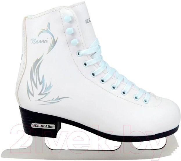 Купить Коньки фигурные Ice Blade, Naomi (р-р 36), Россия, белый, иск. кожа