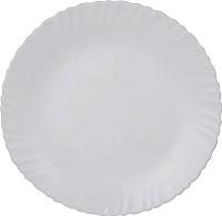 Тарелка столовая мелкая Maestro Белое 2 MR-31071-04 -