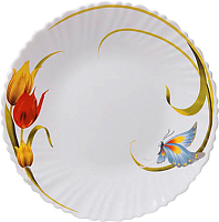 Тарелка закусочная (десертная) Maestro Тюльпан MR-30749-01 -