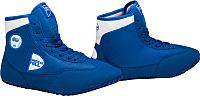 Обувь для борьбы Green Hill GWB-3052/GWB-3055 (синий/белый, р-р 35) -