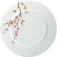 Тарелка закусочная (десертная) Maestro Сакура MR-30767-01 -