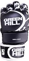 Перчатки для единоборств Green Hill MMA-0057 (S, черный) -