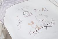 Комплект постельный в кроватку Perina Пио Пио / ПП3-01.2 -