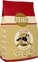 Корм для собак Araton Adult Active / ART24139 (15кг) -