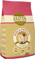 Корм для собак Araton Adult Mini & Medium / ART24287 (3кг) -