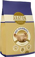 Корм для кошек Araton Cat Adult No Hairball Chicken & Beef / ART24136 (15кг) -