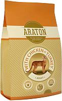 Корм для кошек Araton Cat Adult Chicken & Turkey / ART24132 (15кг) -