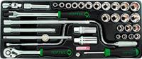 Универсальный набор инструментов Toptul GCAT3403 (34 предмета) -