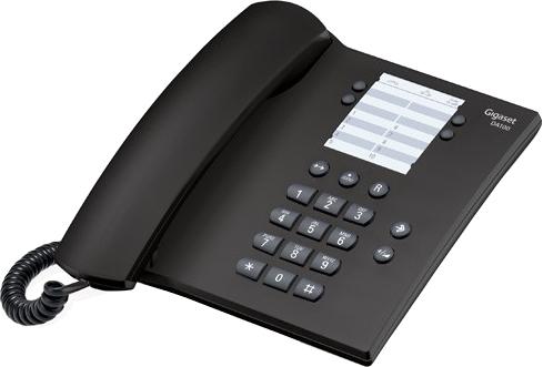 Купить Проводной телефон Gigaset, DA100 (Anthracite), Малайзия