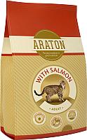 Корм для кошек Araton Cat Salmon & Chicken / ART24134 (15кг) -