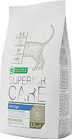 Корм для кошек Nature's Protection Superior Care Anti Age Cat / NPS45084 (1.5кг) -