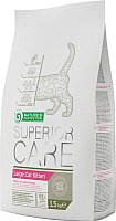 Корм для кошек Nature's Protection Superior Care Large Cat Kitten / NPS45273 (1.5кг) -