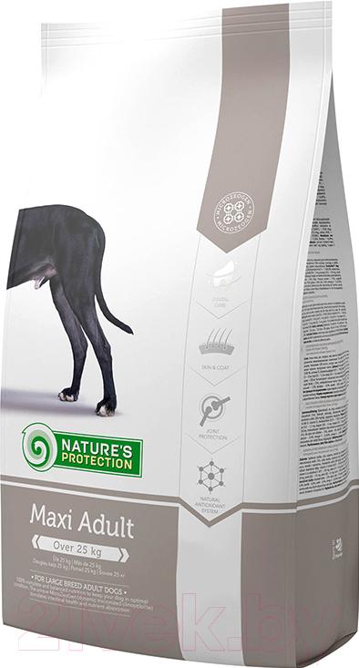 Купить Корм для собак Nature's Protection, Adult Maxi / NPS24324 (12кг), Литва