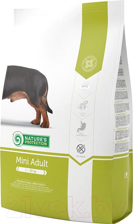 Купить Корм для собак Nature's Protection, Adult Mini / NPS24317 (2кг), Литва