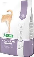 Корм для собак Nature's Protection Adult Mini Lamb / NPS24424 (7.5кг) -