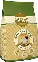 Корм для собак Araton Junior Lamb & Rice / ART44787 (3кг) -