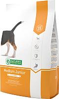 Корм для собак Nature's Protection Junior Medium / NPS24310 (2кг) -