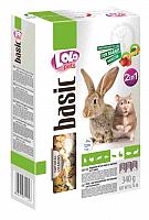 Корм для грызунов Lolo Pets LO-71124 овоще-фруктовый 2 в 1 (0.35кг) -