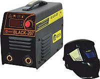 Инвертор сварочный Edon Black-207 (с маской-хамелеон RB 4300) -