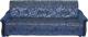 Диван Промтрейдинг Уют 140 с пружинным блоком (гобелен синий) -
