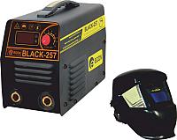 Инвертор сварочный Edon Black-257 (с маской-хамелеон RB 4300) -