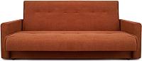 Диван Промтрейдинг Милан 140 с пружиннным блоком (коричневый) -