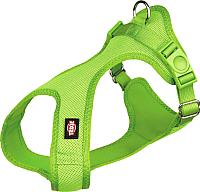 Шлея Trixie Soft harness 16244 (XXS–XS, зеленый) -