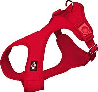 Шлея Trixie Soft harness 16263 (XS–S, красный) -