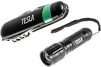Нож туристический Tesla KM-01 (с фонарем LK1-150Р) -