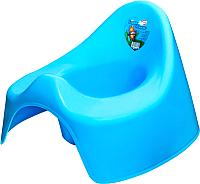 Детский горшок Эльфпласт Гномик 066 (голубой) -