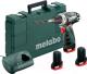 Профессиональная дрель-шуруповерт Metabo PowerMaxx BS Basic Set (600080960) -