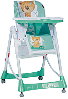 Стульчик для кормления Lorelli Primo Green Cute Bear (10100051811) -
