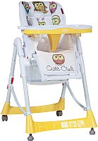 Стульчик для кормления Lorelli Primo Yellow Cute Owls (10100051830) -