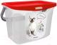 Емкость для хранения корма Berossi АС 37646000 (красный) -