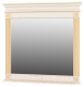 Зеркало интерьерное Мебель-Неман Афина МН-222-08 (крем/белый полуглянец) -