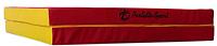 Гимнастический мат Perfetto Sport Складной №10 1x1.5x0.1м (красный/желтый) -