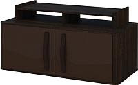 Тумба Мебель-Неман Браво МН-127-07 (орех/мокка) -