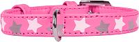 Ошейник Collar Glamour Звездочка 35857 (розовый) -